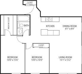 Floor Plan Willow Bay