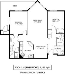 Floor Plan Rock Elm