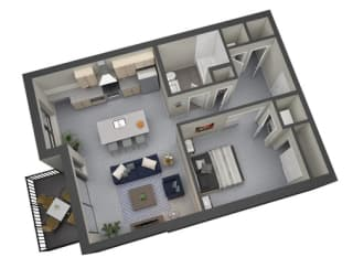 Floor Plan Whittier