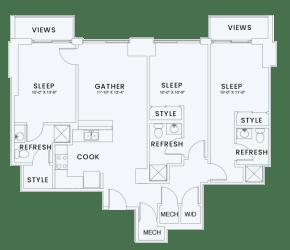 Skyhouse plan C7
