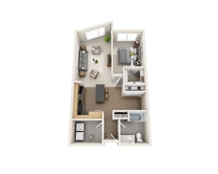 Floor Plan A1BD