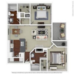 Floor Plan B2 Butternut