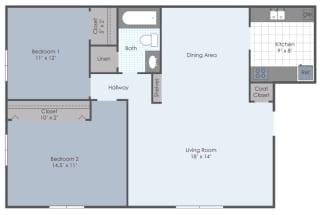 Floor Plan Cottonwood