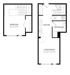 Aventine Apartments Tuscany Floor Plan