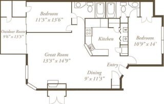 Floor Plan The Ottawas