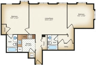 Floor Plan The Charles