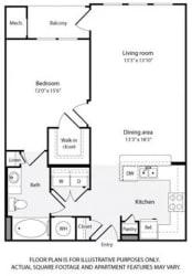 Floorplan at Windsor at Contee Crossing 7810 Contee Road Laurel, MD 20707