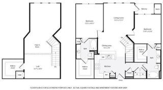 Floorplan at Windsor at Contee Crossing 7810 Contee Road Laurel, MD 20707