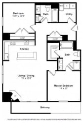 Gramercy Floorplan at The Manhattan Tower and Lofts