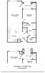 The Dylan Floorplan at The Manhattan Tower and Lofts