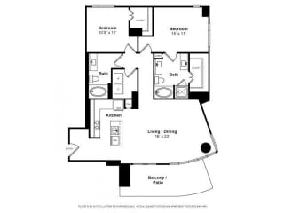 Floorplan at Windsor Memorial, 3131 Memorial Court,  Houston, TX 77007