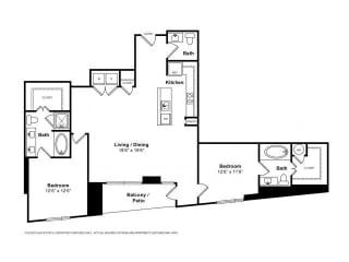 Floorplan at Windsor Memorial, 3131 Memorial Court,  Houston, TX