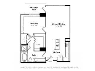Floorplan at Windsor Memorial, 3131 Memorial Court,  Houston