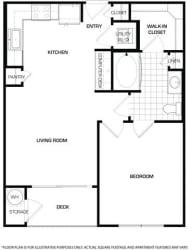 Floorplan At Domain by Windsor,1755 Crescent Plaza, Houston,