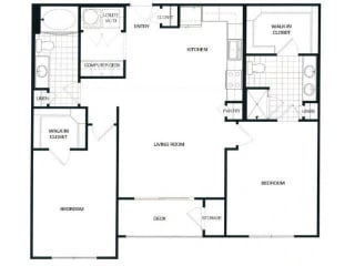 Floorplan At Domain by Windsor, TX 77077