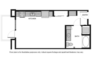 S1 Floor Plan at South Park by Windsor
