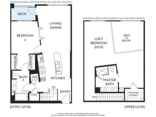 Floorplan At 5550 Wilshire at Miracle Mile by Windsor, Los Angeles, CA, 90036