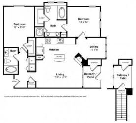 Floorplan at Windsor at Aviara