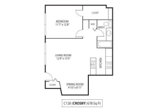 Floor Plan Crosby