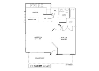 Floor Plan Harriett