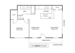 Floor Plan Leech