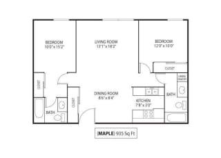 Floor Plan Maple