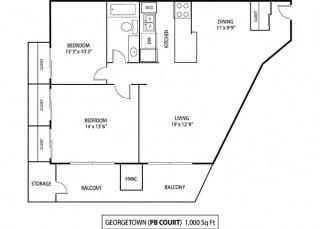 Floor Plan Georgetown