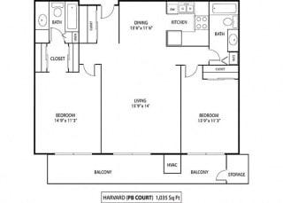 Floor Plan Harvard