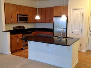 Kitchen Island at The Ridgewood by Windsor