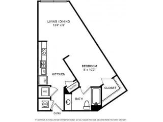 Floorplan at The Ridgewood by Windsor, 4211 Ridge Top Road, Fairfax,