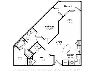 Floorplan at The Ridgewood by Windsor, 4211 Ridge Top Road