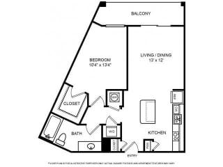 Floorplan at The Ridgewood by Windsor, 4211 Ridge Top Road, VA 22030