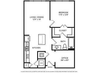 Floorplan at The Ridgewood by Windsor, 4211 Ridge Top Road, VA