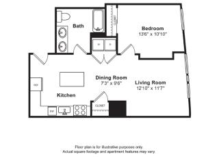 Floorplan at Cirrus, Washington 98121