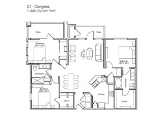 Floor Plan C1-Congress