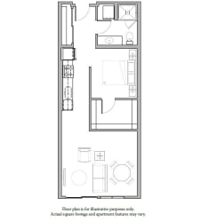 O9 Floor Plan at The Whittaker