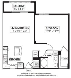 Floorplan at Windsor at Doral,4401 NW 87th Avenue, FL