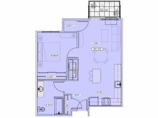 Floor Plan D-AHC