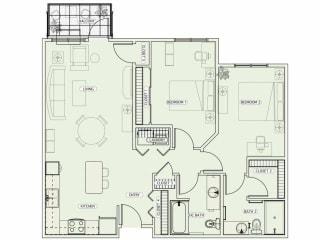 Floor Plan E1