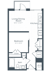 S2 Floor Plan at Highgate at the Mile, Virginia