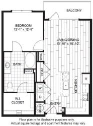 A2 Floor Plan at Windsor CityLine