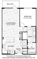 A4-1 Floor Plan at Windsor CityLine