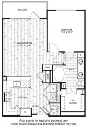 A7 Floor Plan at Windsor CityLine