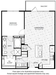 A8-1 Floor Plan at Windsor CityLine