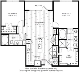B1-1 Floor Plan at Windsor CityLine