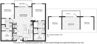 B4 Floor Plan at Windsor CityLine