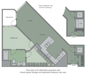 D Floor Plan at Olympic by Windsor