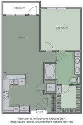 E Floor Plan at Olympic by Windsor