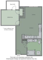 H Floor Plan at Olympic by Windsor