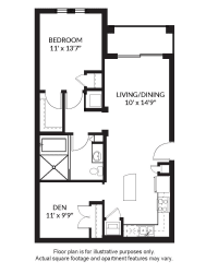 A3 Floor Plan at Windsor at Delray Beach, Delray Beach, 33483